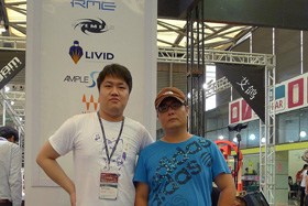 with famous agent Ying Xiong
