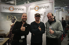 with Wolfgang & Robert @Best Service