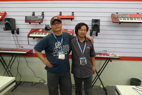 with AVID Engineer Mr.Yan