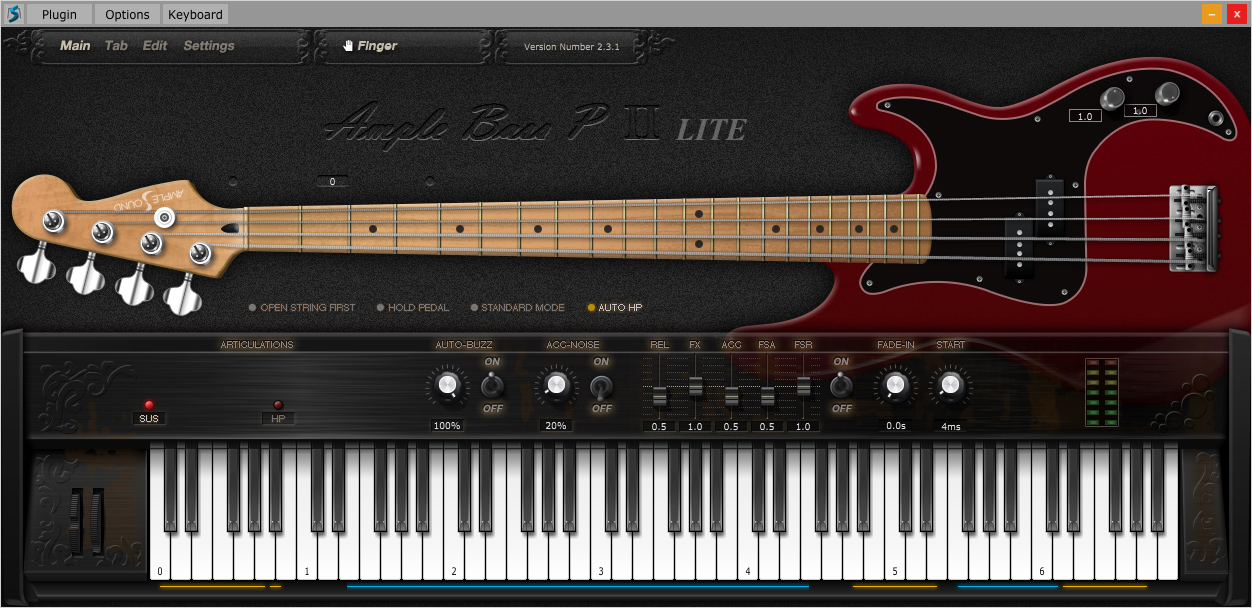 free bass guitar vst instrument